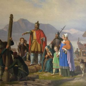 Who first settled iceland and when