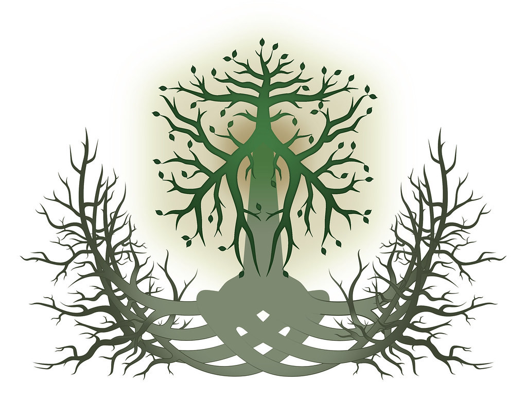 What does the Celtic tree of life symbol meaning symbolize