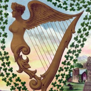 Celtic/irish/Scotland/Welsh harp Symbol meaning and origin