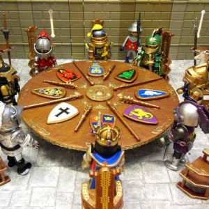 the legend of king arthur and the knights of the round table story