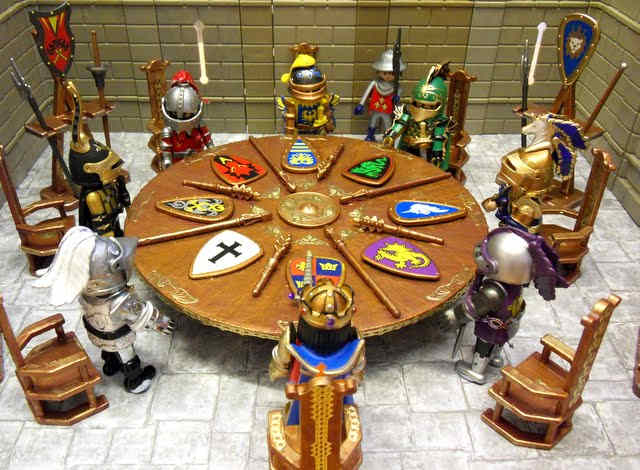 Legend Of King Arthur And The Knights, Why Was The Round Table Round