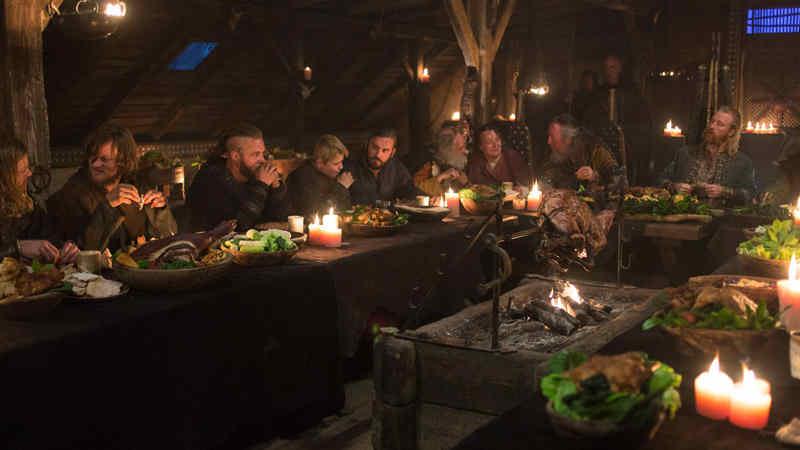 what foods did vikings eat?