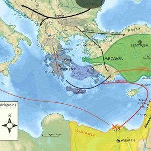 Who were the sea peoples that invaded egypt