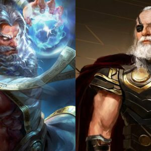 Are Odin and Zeus the same