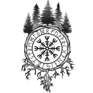 what is Vegvisir Yggdrasil meaning