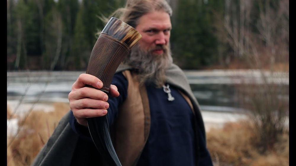 what is a viking horn